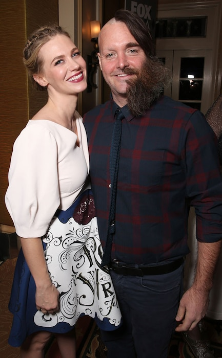 January Jones, Will Forte